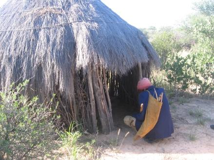 Botswana bushman house